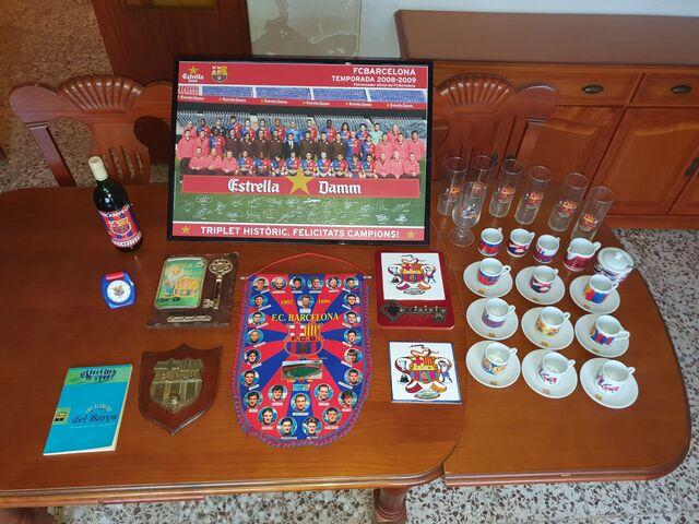 Lote De Futbol Club Barcelona