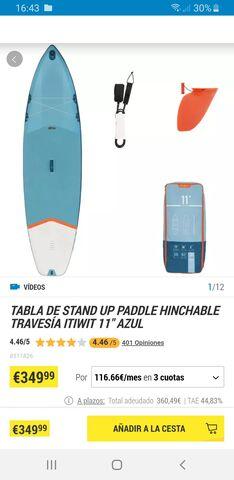TABLA DE PADEL SURF - foto 1