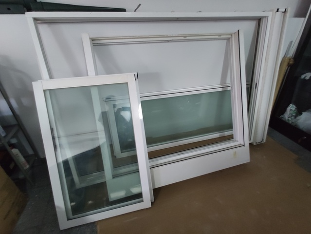 4 Ventanas Blancas Climalit Aluminio