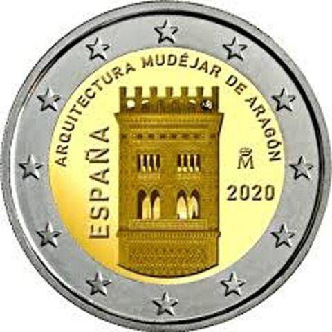 Moneda De 2   Conmemorativa Año 2020