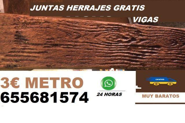 Vigas Imitación Madera 3 Euros Metro