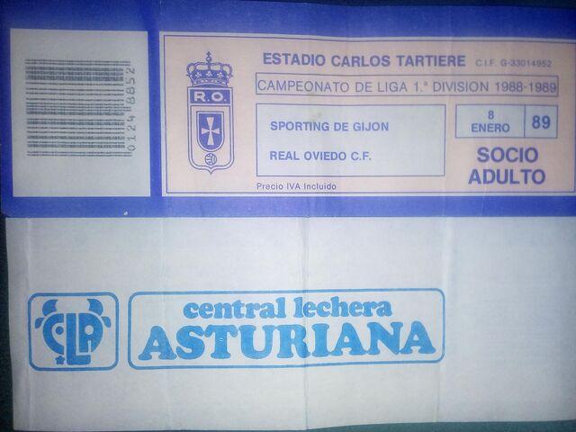 Entradas Sporting - Oviedo