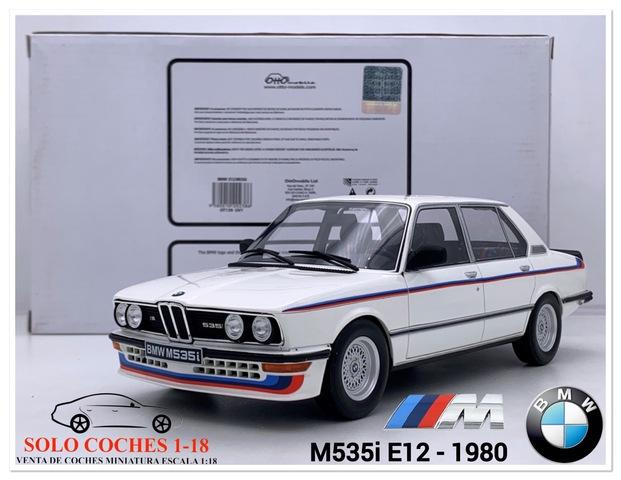 1:18 Bmw M535I E12 Color Blanco 1980