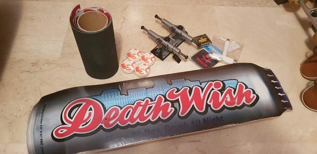 TABLA DEATWISH 8. 5 CON EJES SILVER - foto 1