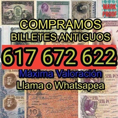 Busco Billetes España.Compro Colecciones