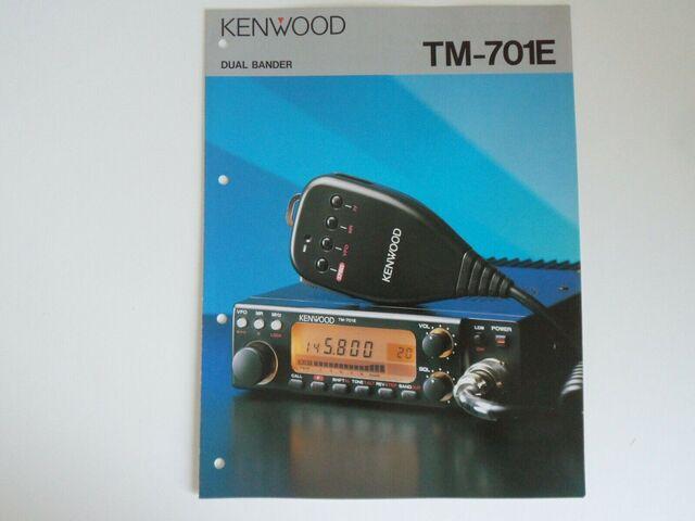 EMISORA BIBANDA KENWOOD TM 701 E - foto 1