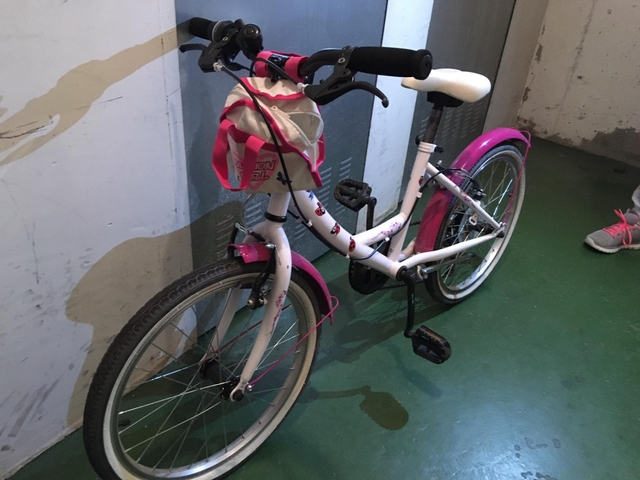 Bicicleta Infantil Niña Rosa