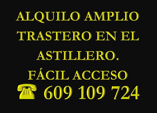 AMPLIO TRASTERO EN EL ASTILLERO SOLO 39 - foto 1