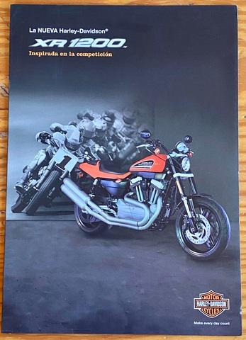 Tríptico Original Harley Davidson Xr1200