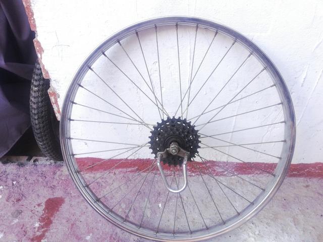 Llanta Trasera 26 Pulgadas Bicicleta