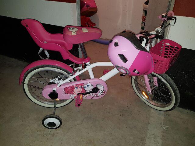 Bicicleta De Niños 16 Pulgadas 4,  5,  6