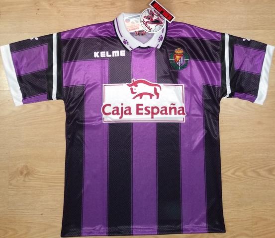 Camiseta Real Valladolid Con Etiquetas