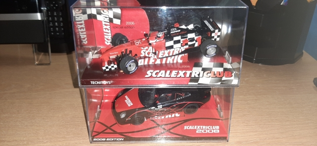 Dos Coches De Scalextric F1 Y Porsche