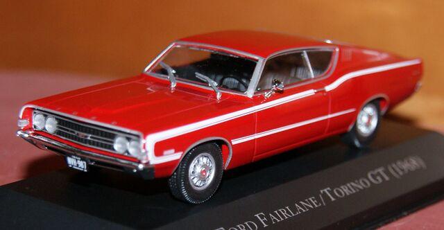 Ford Fairlane/Torino Gt 1968 Escala 1:43