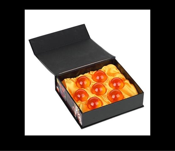 Caja 7 Bolas De Dragón Ball