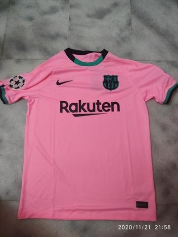 Camiseta Rosa Fc Barcelona - Barça