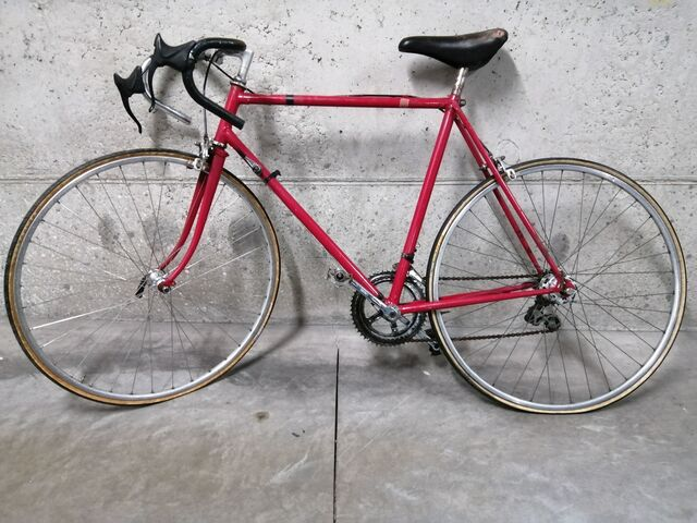 Bicicleta De Carretera Clásica