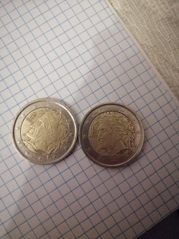 Vendo Monedas De 2 Euros Dante Alighieri