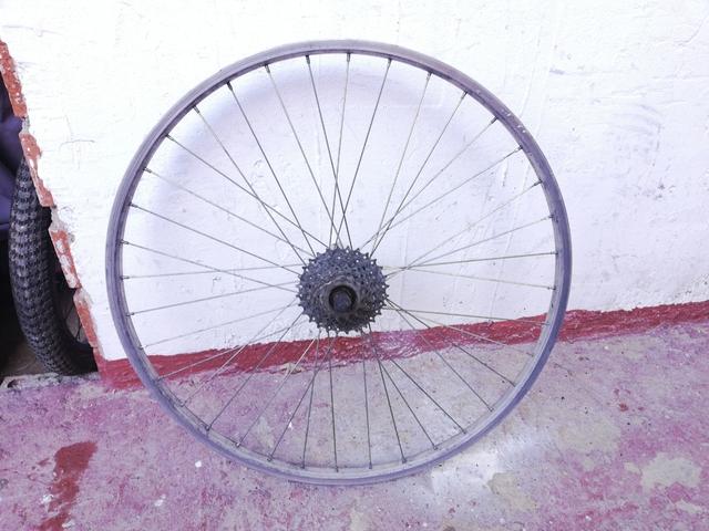 Llanta Trasera Bicicleta 26 Pulgadas
