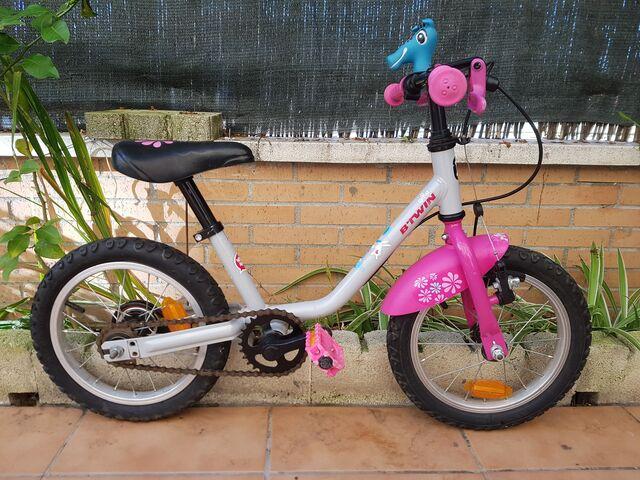 Bicicleta 14 Pulgadas Jirafa Btwin
