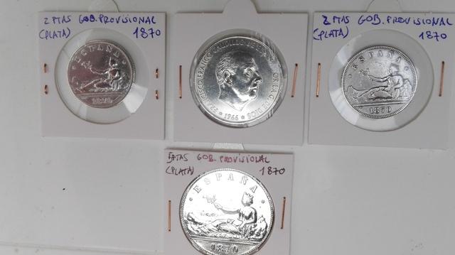 Autenticas Monedas De Plata