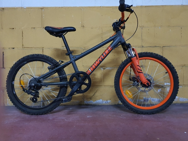 Bici Aluminio 6-10 Años