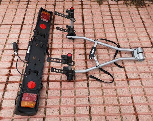 Porta Bicicletas + Porta Matrícula