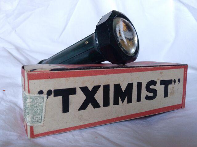 Linterna Tximist Años 40/50 De Baquelita