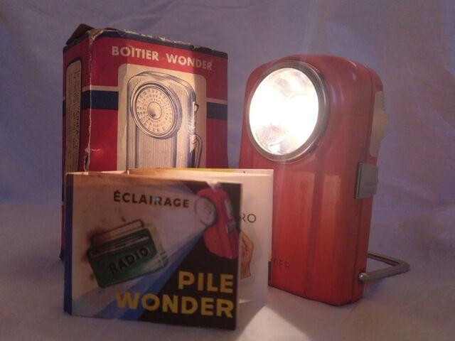 Linterna Wonder Años 60/70 De Petaca