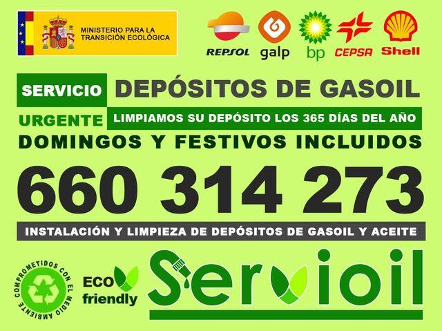LIMPIEZA DEPOSITOS GASOIL CALEFACCION - foto 1