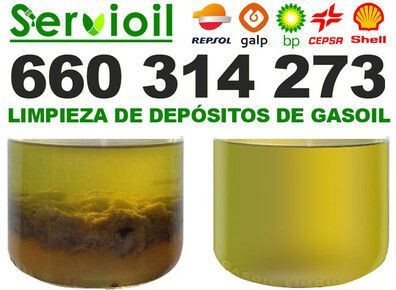 LIMPIEZA DEPOSITOS GASOIL CALEFACCION - foto 2
