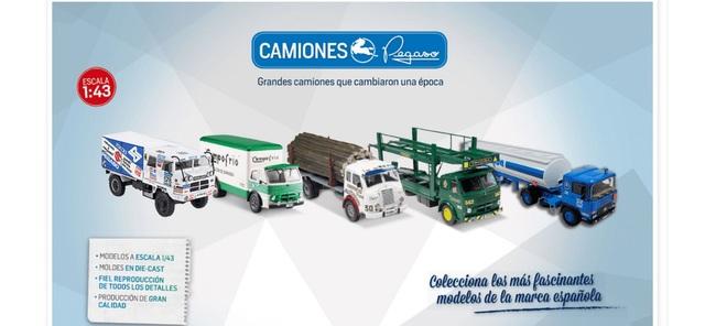 Colección De Camiones Pegaso