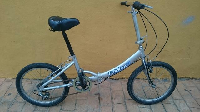 Bicicleta Adulto Plegable Funcionando