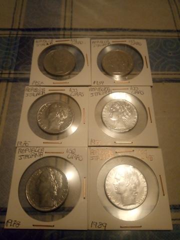 Lote De 6 Monedas