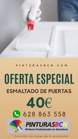 ESMALTADO DE PUERTAS POR SÓLO 40 - foto 1