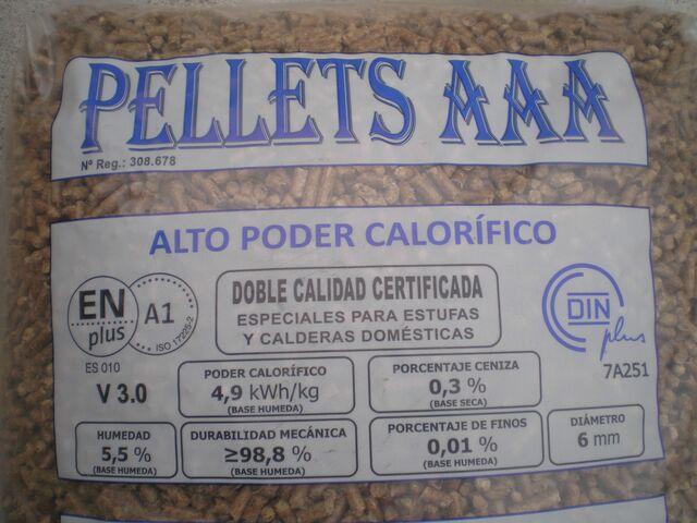 PELLETS A1 AAA COSTA ORIENTAL CANTABRIA - foto 2
