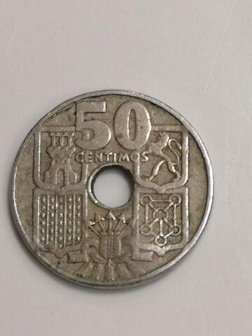 Moneda 0,50 Céntimos