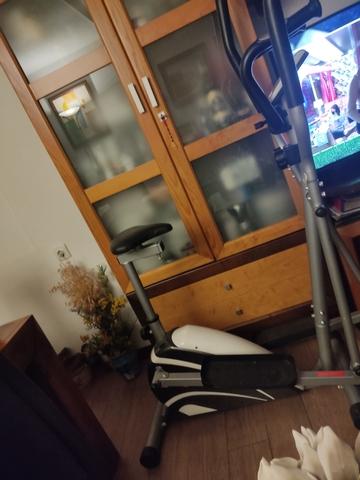 Bicicleta Estática Con Eliptica