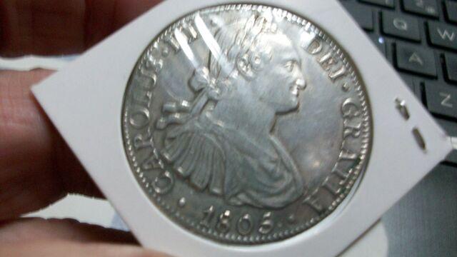 Moneda 8-Reales De Mexico De 1806