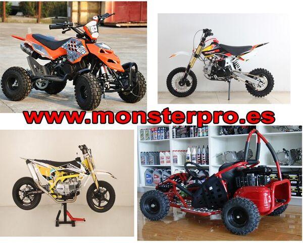 MINI MOTOS DE CROSS Y MINI QUAD MONSTER - foto 1
