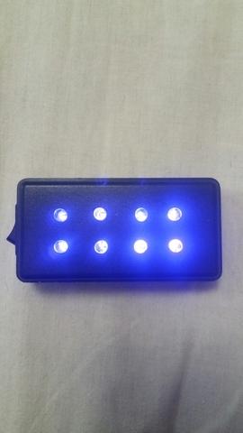 Linterna Ultravioleta Casera.