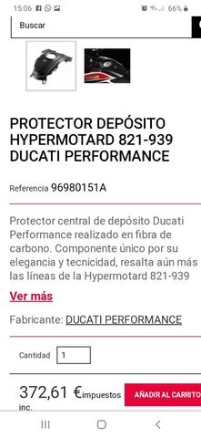 HYPERMOTARD HYPERESTRADA DUCATI PERFORMA - foto 3