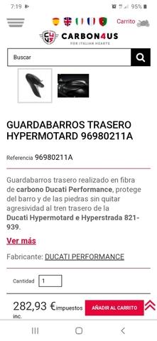 HYPERMOTARD HYPERESTRADA DUCATI PERFORMA - foto 5