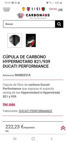HYPERMOTARD HYPERESTRADA DUCATI PERFORMA - foto 7