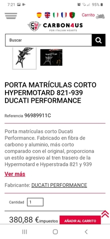 HYPERMOTARD HYPERESTRADA DUCATI PERFORMA - foto 9