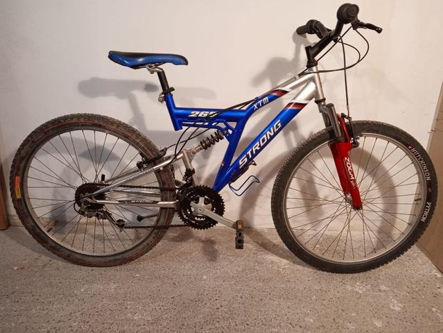 Bici Montaña Doble Suspension