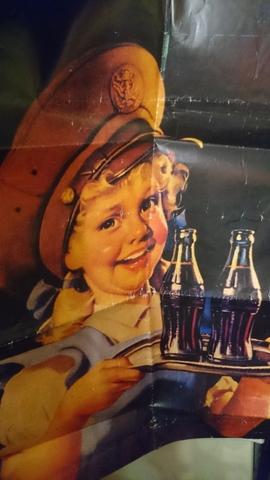 Póster Antiguo Coca-Cola