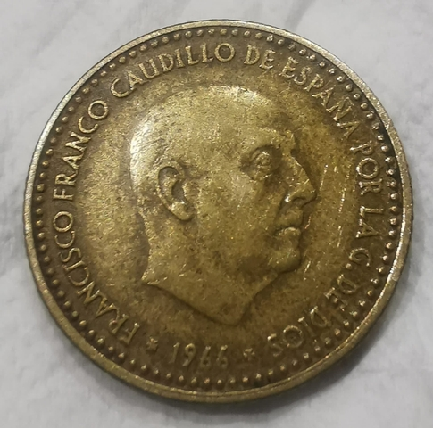 Moneda 1 Peseta 1966