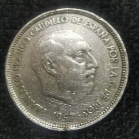 Moneda 25 Ptas 1957