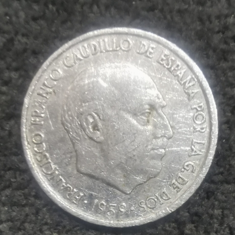Moneda 10 Céntimos 1959